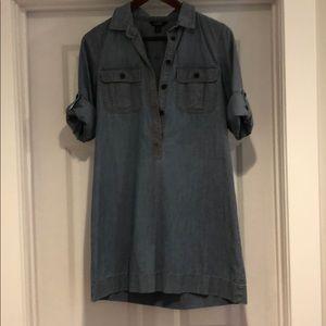 Jcrew chambray dress